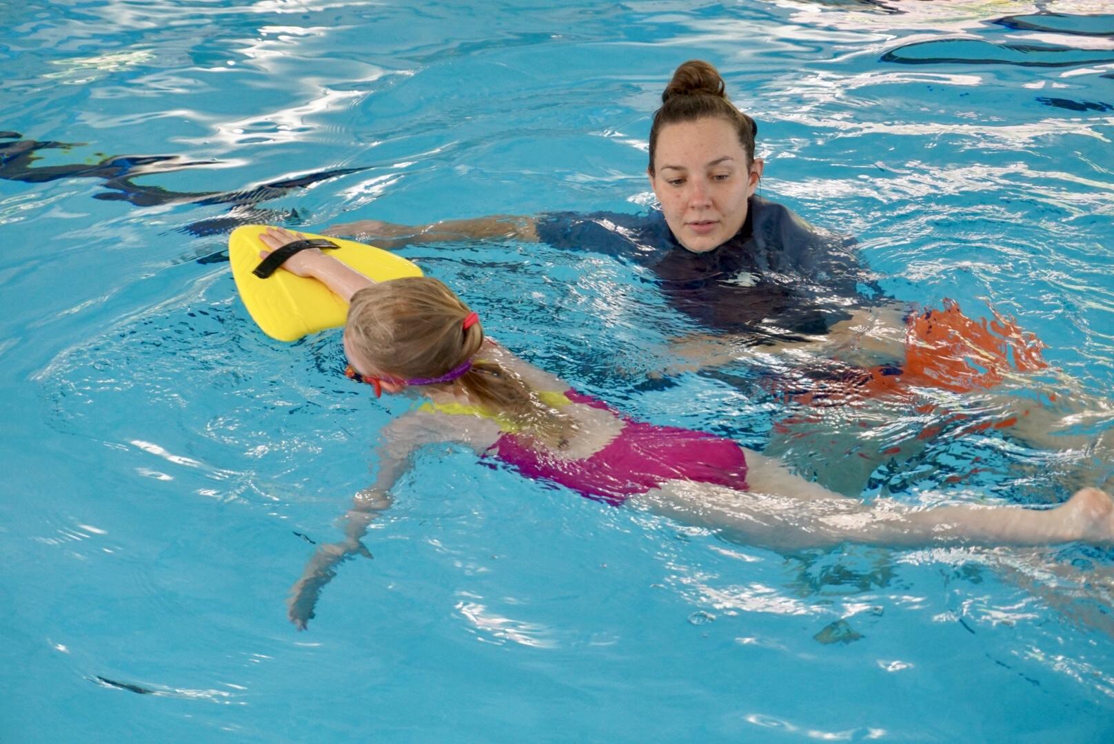 Neil Bailey Swimming