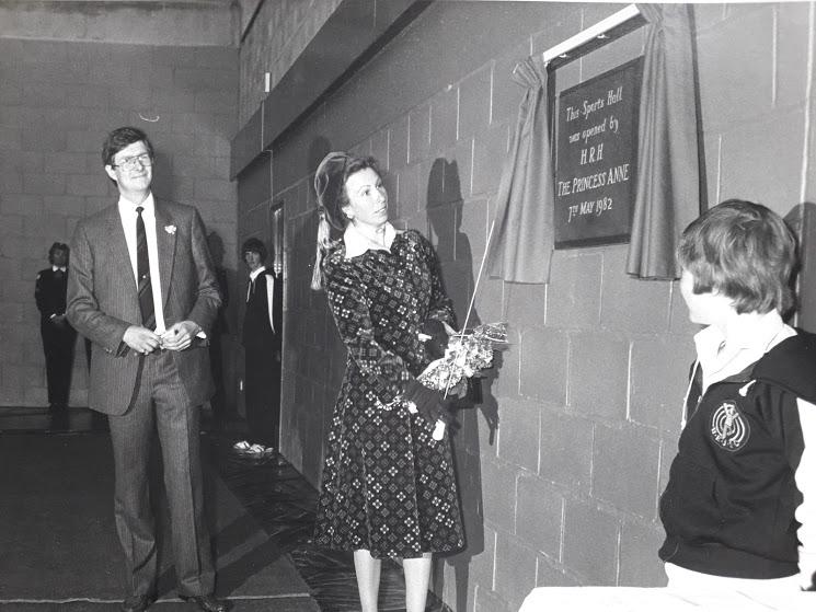 HRH Princess Anne with Graham Watson 1982